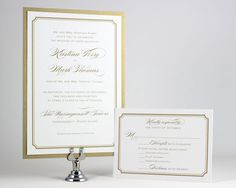 Printable Wedding Invitations Simple Wedding Invitations Gold Wedding Invitations Digital Files for Self-Print