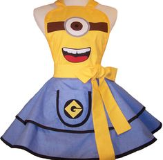 Hey, I found this really awesome Etsy listing at https://www.etsy.com/listing/127533180/cosplay-apron-minion-pin-up-style-note-i