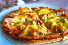 O.P. Supreme PIzza Las Palmas Bar and Restaurant Las Palmas, Osa Peninsula Costa Rica #travel #food #foodie