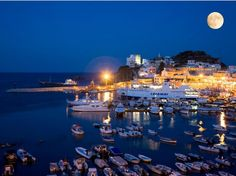 Lazio - Ponza - small pitoresque town, perfect for for (fishing, restaurants and cafes) and perfect for me (boutiques, bakeries)