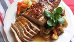 Food From Elk River Guest Ranch: Peppery Pork and Vegetable Roast