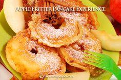 Apple Fritter Pancake Experience