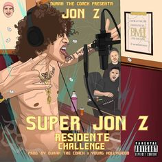 Super Jon-Z (Residente Challenge) Prod by Duran The Coach X Young Hollywood Steven Seagal, Coach K, Trending Topics, Album Covers, Hip Hop, Challenges, Parenting, Hollywood, Hiphop