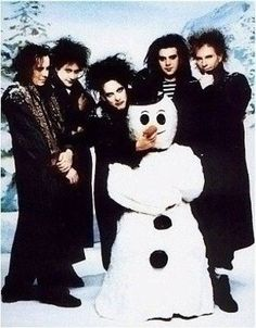 """A fun band portrait poster of Robert Smith and The Cure! It'll look great on your wall while you sit and """"chill"""" with their songs :) Ships fast. Need Poster Mounts. Recital, Punk Rock, Good Music, My Music, The Cure Band, Dark Wave, Rap, Friday Im In Love, Robert Smith The Cure"""