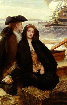 Voyage (detail) by Albert Lynch 1851-1912