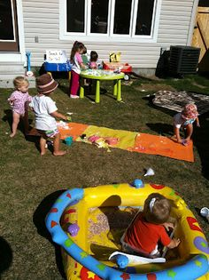 Playdate for summer - I am soo doing this!! Thanks for the great idea!!