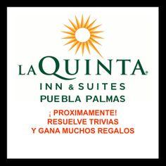 Proximamente, ya falta poquito no te lo puedes perder!!! Agreganos en Facebook:Hotel la Quinta Inn Suites Puebla o en Twitter QuintaInnPuebla te encantarán los regalos.
