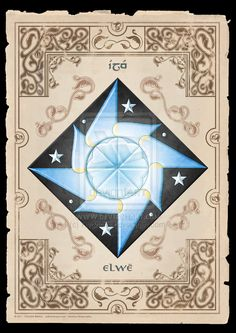 Heraldic Device of Elwe Singollo - Elu Thingol by Rvdricvs on DeviantArt