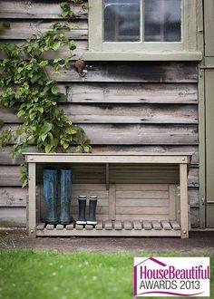 Aldsworth Welly Store | 1000 Outdoor Shoe Storage, Outside Storage, Boot Storage, Storage Trunk, Garage Storage, Outdoor Living, Outdoor Decor, Outdoor Benches, Back Doors