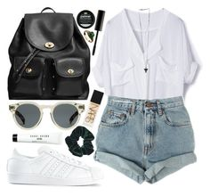 """""""nothing special here"""" by velvet-ears ❤ liked on Polyvore featuring adidas, Coach, Levi's, Illesteva, Givenchy, Topshop, Bobbi Brown Cosmetics, NARS Cosmetics, Surratt and women's clothing"""