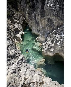 Canyoning in Guara (Huesca, Spain) http://www.facebook.com/Pyrenees.Pirineos