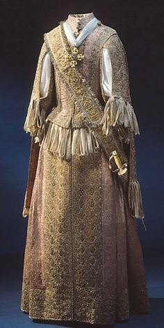 Frock of Karl XI ca. 1660  From the Royal Armory and Hallwyl Museum