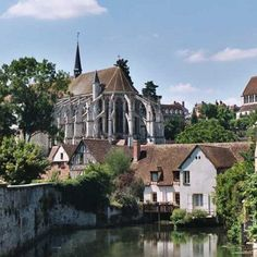 France, Normandy - Chartre is the largest city in Normandy. Chartres has an old town, known for its beautiful cathedrals. In the medieval center, you can spend hours strolling through the picturesque streets and the markets and shops.