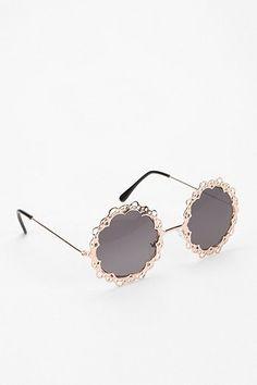 Love Lace Round Sunglasses