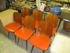 Found on EstateSales.NET: mid century modern chairs
