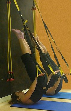 Jackknife for a Pilates body via the TRX @Pilates4Fitness Movement Space