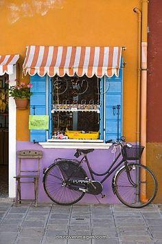 Shop Front, Burano, Venice, Italy