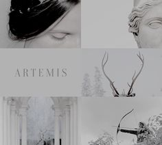 """Artemis & Apollo 1/2: """"The goddess Artemis had a twin brother, Apollo, the many-faceted god of the Sun. He was her male counterpart: his domain was the city, hers the wilderness; """""""