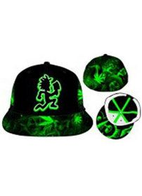 ICP Hatchetman Leaf Green Flex Hat I designed for Bioworld. Available at Hastings.