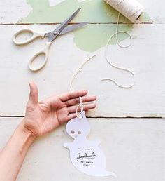 Printable Ghost Invitations @simplyorganic