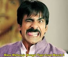 Mass Maharaja 'Bengal Tiger' from March 2   Read more at: http://www.andhrabugle.com/movie-news.php?mid=1011#.VM2y0dKUdA0