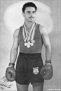 Hungarian middleweight who won 3 golds, a feat later matched by Cuban heavyweights, Stevenson & Savon. Celebrity Gallery, Celebrity Photos, Heart Of Europe, Sport Icon, Boxing News, Sports Stars, Vintage Men, Vintage Sport, Olympic Games