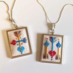 KBB Crafts & Stitches: Cross-Stitch Hearts & Arrows