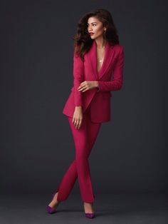 ShopStyle Look by StyleFiles featuring Tommy Hilfiger Zendaya Check Linen Blazer and Tommy Hilfiger Zendaya Curve Check Linen Blazer Zendaya Outfits, Zendaya Style, Mode Outfits, Office Outfits, Zendaya Photoshoot, Zendaya Makeup, Zendaya Fashion, Zendaya Hair, Trend Fashion