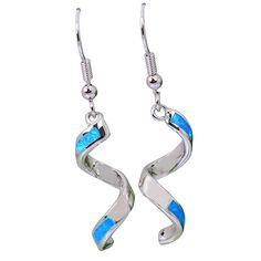 Find More Drop Earrings Information about Latest Design Brand Unique designer 925 sterling silver jewelry Blue Fire Opal Dorp dangle earrings fashion jewelry E201,High Quality jewelry wallet,China jewelry claps Suppliers, Cheap jewelry dragon from Dana Jewelry Co., Ltd. on Aliexpress.com