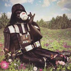 Imagen de star wars, darth vader, and tea Star Wars Film, Star Wars Icons, Star Wars Art, Star Trek, Images Star Wars, Star Wars Pictures, Star Wars Jokes, Star War 3, The Force Is Strong