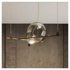 Federico Peri - Shapes pendant lamp, Triangle + Balloon