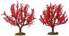 """4"""" Autumn Oak, Set Of 2"""