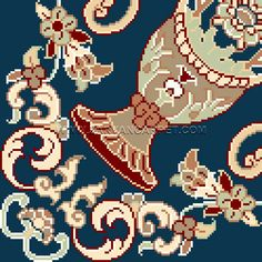 8 color - 1500 compression - 700 knot line Pune, Cross Stitch Patterns, Knot, Kids Rugs, Cards, Color, Home Decor, Needlepoint, Knots