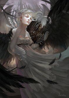 Lost Soul, Kamila Szutenberg on ArtStation at https://www.artstation.com/artwork/lGx6k
