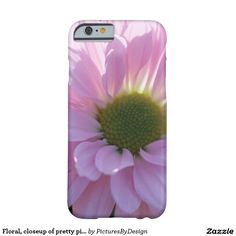 Pretty floral phone case; closeup photograph of a pretty pink pom daisy, with the sunshine radiating through the petals! A bright and cheery phone case for all flower/nature lovers! Design is available on multiple phone or tablet options