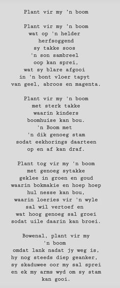 Afrikaanse Quotes, Daughter Quotes, Pretty Words, Quote Of The Day, Verses, Poems, Relationships, Motivational, Sad