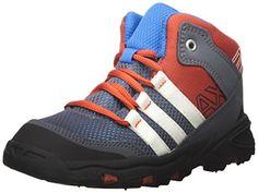 adidas Outdoor Kids AX2 Mid Hiking Boot Shock BlueChalk WhiteOnix 65 M US Toddler >>> For more information, visit image link.