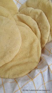 Cubes N Juliennes: Home Made PITA BREAD