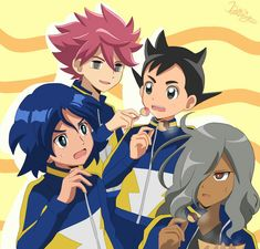 Inazuma Eleven Strikers, Galaxy Movie, Inazuma Eleven Go, Play Soccer, Manga, Geek Stuff, Kawaii, Japan, Cartoon