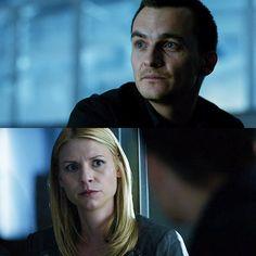 """Carrie & Quinn in """"Homeland"""""""