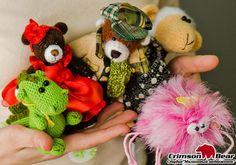 Студия Малиновый медвежонок, изготовление авторских хэнд мэйд игрушек из тканей и пряжи в Омске