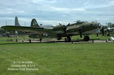 B-17D (40-3097) The Swoose   First off, the forward fuselage. The nose section is being reskinned ...