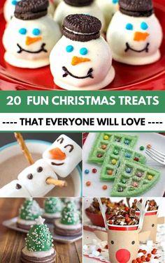 Christmas Treats To Make, Christmas Cookies Kids, Best Christmas Desserts, Christmas Chocolate, Christmas Goodies, Holiday Treats, Christmas Baking, Winter Desserts, Holiday Baking