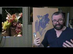 Юрий Клапоух. Урок для начинающих. Пишем виноград. Часть 1. - YouTube