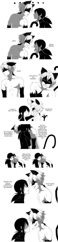 Op. I forgot. — Something weird is happening to Adrien Agreste....