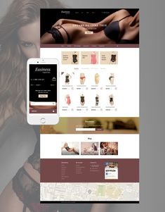 17+ Best Womens Lingerie Underwear Swimwear Store Ecommerce PrestaShop Themes - Easiness