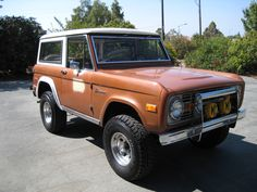 ford bronco    1973 Ford Bronco picture, exterior