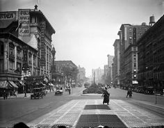 The NewYorkologist: Broadway at 96th Street with Fox's Japanese Garden Theater on Left, New York, 1920