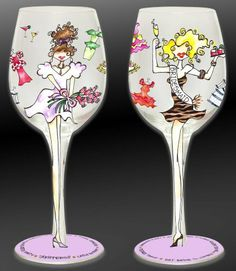 Bottom's Up 15-Ounce Bridesmaid Handpainted Wine Glass by 95 and Sunny, http://www.amazon.com/dp/B003J99HWG/ref=cm_sw_r_pi_dp_G4wQrb0G5ETG0