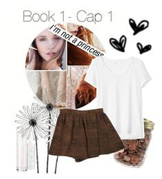 """""""The Selection clothes: Book 1 - Cap 1; America going to see Aspen"""" by bia-dreamy on Polyvore featuring Hollister Co., My Little Pony, Gap and Joie"""
